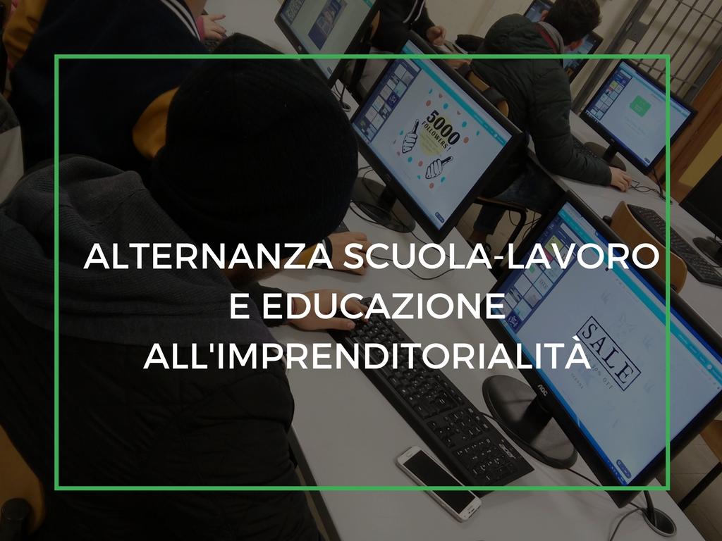 PCTO, Alternanza Scuola-Lavoro e Educazione all'imprenditorialità