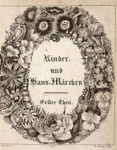 copertina dei fratelli grimm del 1812