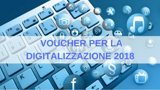 voucher per la digitalizzazione