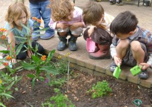 giardino a scuola