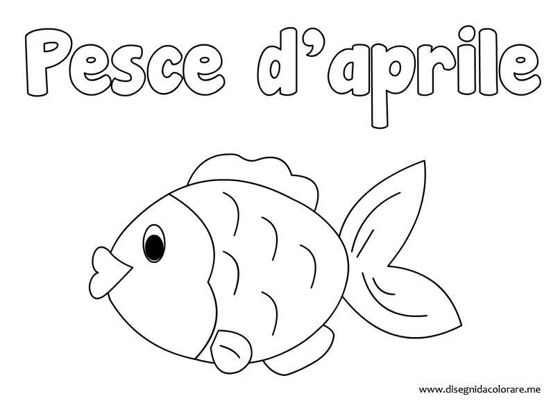 Scheda Didattica E Attivita Per Il Pesce D Aprile Paidea